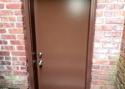 Basement Door & Front Railing Replacement